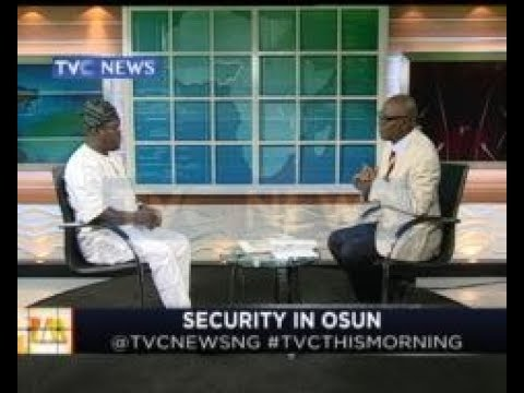 The govt of Aregbesola did a lot in terms of security-Hon.Adelani Baderinwa