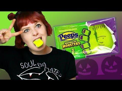 Irish People Try American Halloween Candy