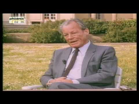 Willy Brandt - Interview
