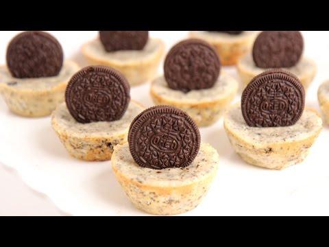 Mini Oreo Cheesecake Recipe - Laura Vitale - Laura in the Kitchen Episode 799