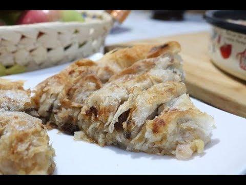 Bakina kuhinja - pita sa jabukama uvijača za početnike