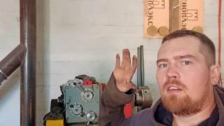 Токарный станок 16д25, ремонт системы смазки.