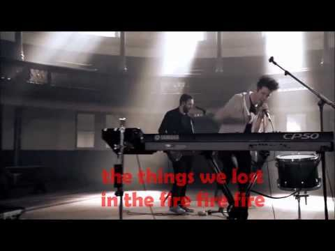 BASTILLE-THINGS WE LOST IN THE FIRE [ OFFICIAL VIDEO+LYRICS] [HQ-HD]