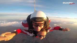 Skok spadochronowy Agnieszki 15.08.2016 Olimpic Skydive