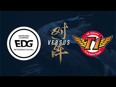 EDG vs. SKT | Group Stage Day 2 | 2017 World Championship | Edward Gaming vs SK telecom T1