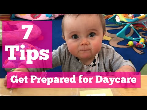7 Tips to Prepare for Daycare