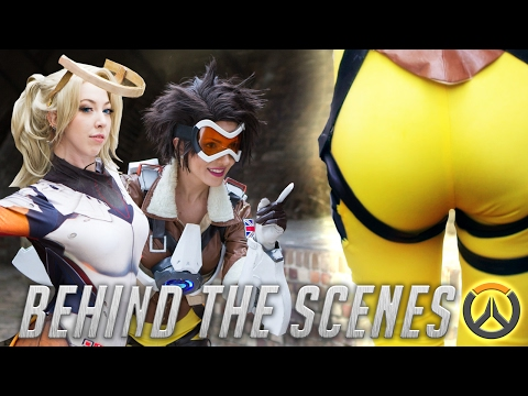Tracer's Booty on Point [Behind the Scenes]