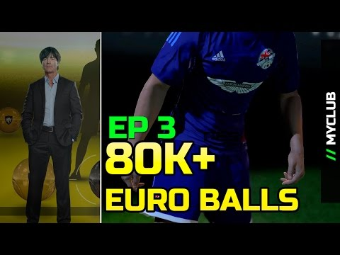 [TTB] PES 2016 - MyClub - 80K+ Euro Ball Pack Opening - New Manager - Black Balls - Ep3