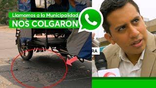 Pistas y veredas desastrosas en SMP - Reportero Ciudadano