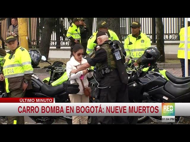 RED+ | Carro bomba en la Escuela de Cadetes 'General Santander'