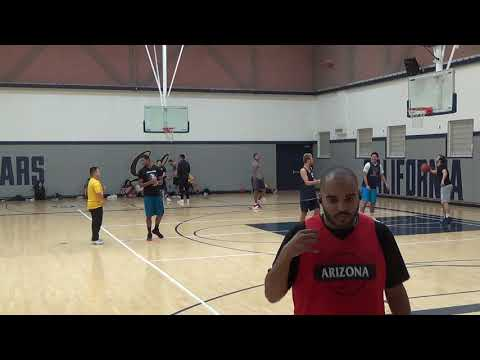 2017 Fall Berkeley IM Men's Basketball Open Final Warmups