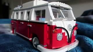 Lego Creator VolksWagen T1 Camper Van 10220 - Review