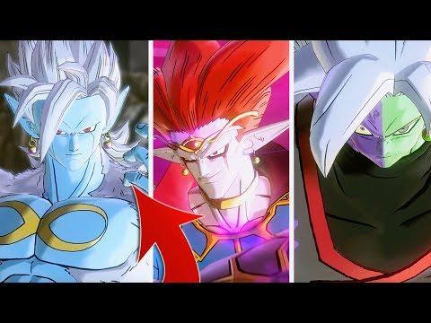 Boss Characters Are Broken! Playing As Demigra, Final Form Mira & Corrupt Zamasu | Xenoverse 2