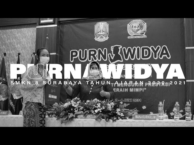 Closing ceremony purnawidya SMK Negeri 8 Surabaya Tahun Ajaran 2020-2021    DAY 3