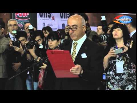 Opening Ceremony Of Yerevan Show 2014 Jewelry Exhibition At Newly-opened MERIDIAN Expo Center