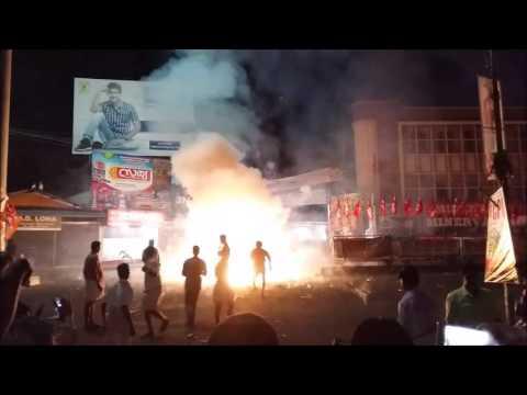 Chalakudy Market Ambu 2016 - Special Fireworks - Vlog