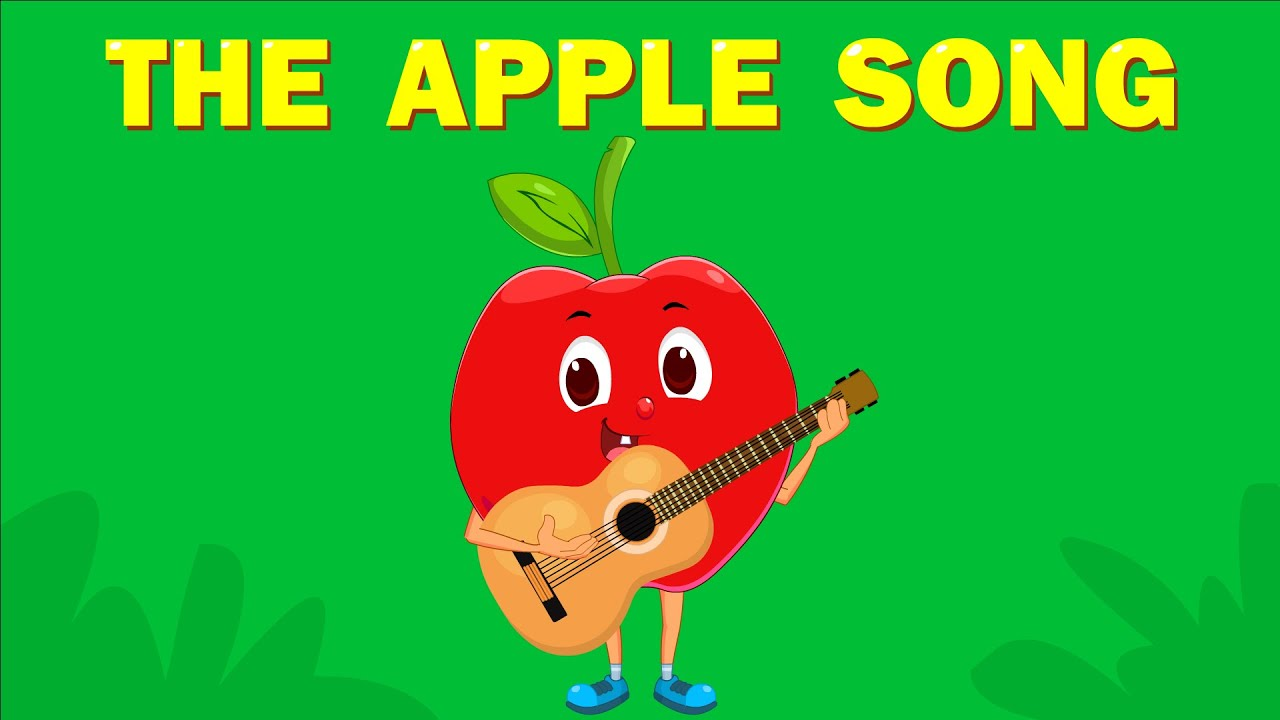 The Apple Song | Learn Fruits | Kids Songs | Super Toddler