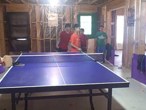 2009 Yang Shi Gang Table Tennis School Spring Break Camp Day 4 x