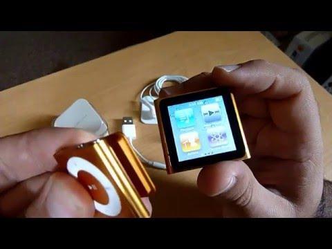 iPod shuffle 6th gen unboxing