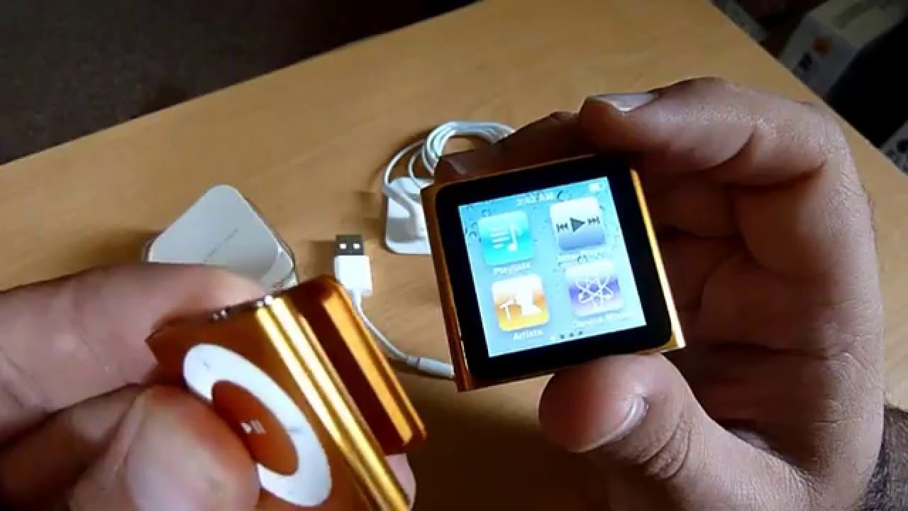 iPod shuffle 6th gen unboxing - YouTube