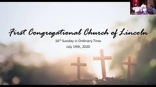 Sunday Service | July 19, 2020