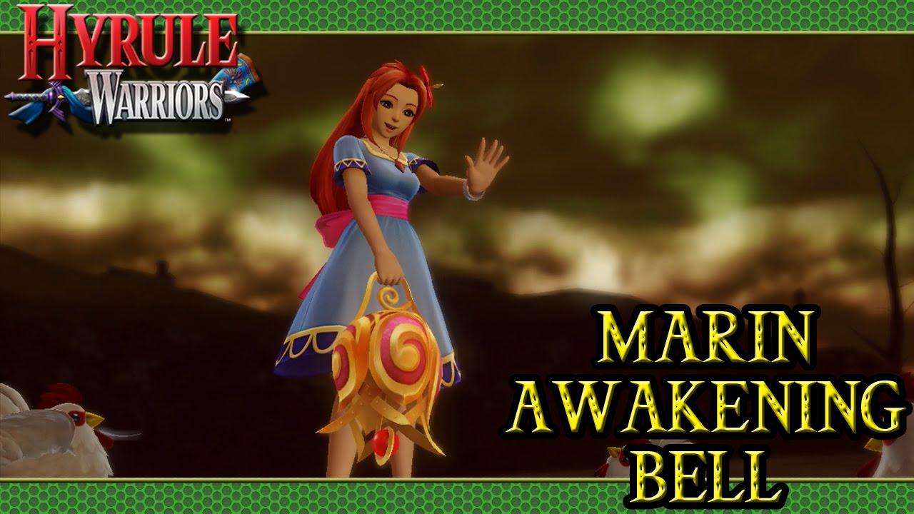 Hyrule Warriors Dlc Marin Awakening Bell Youtube