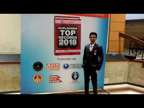 Indian Record Holders At World Stage 2017 | World Record Union (Entry in Auditorium) |  12 Nov 2017|