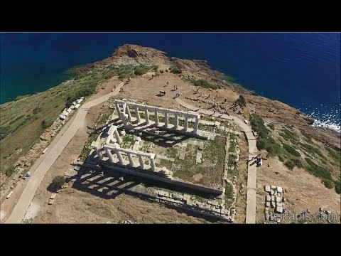 Poseidon's Temple at Cape Sounion, Greece's