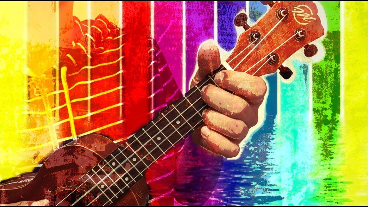 True colors   ukulele tutorial youtube.