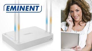 Eenvoudig installeren van een Eminent router