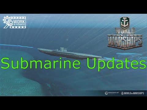World Of Warships- Submarine Updates: Wargaming Listened!