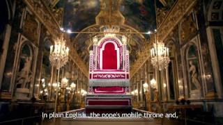 Trônes En Majesté : La Sedia Gestatoria Du Pape Pie Vii