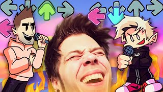 RUBIUS VS AURONPLAY | Friday Night Funkin' (RUBIUS MOD)