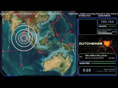 2/24/2017 -- Large M7.0 (M6.9) earthquake strikes West Pacific -- New Zealand on watch now