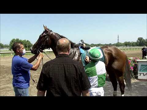 video thumbnail for MONMOUTH PARK 07-04-20 RACE 4