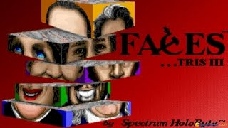 Faces gameplay (PC Game, 1990)
