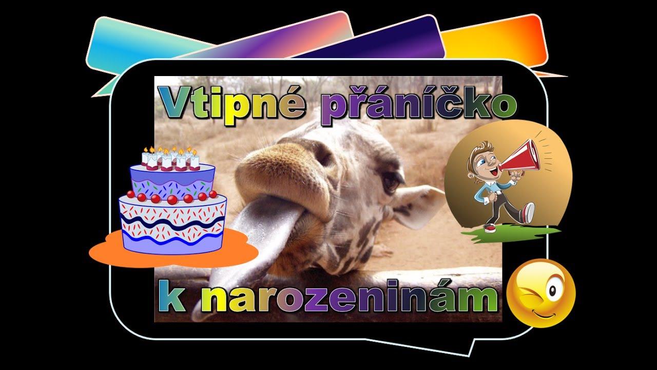 veselé obrázky k narozeninám Přání k narozeninám   vtipné 🎂   YouTube veselé obrázky k narozeninám
