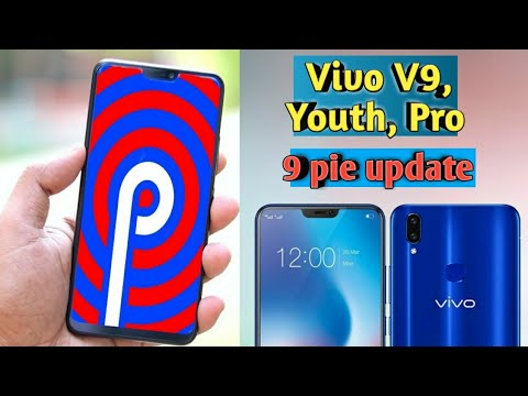 new android pie update in vivo v9 & v9 youth