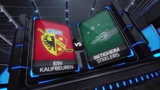 DEL2 Highlights 34. Spieltag | ESV Kaufbeuren vs. Bietigheim Steelers