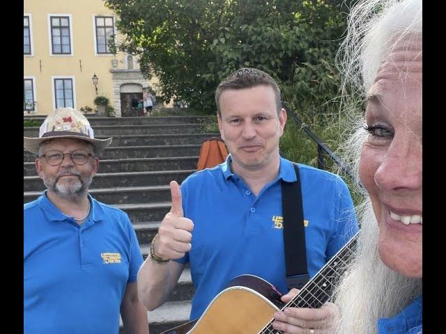 Sommarturné = sant! Mats, Johan och jag, detta blir galant!