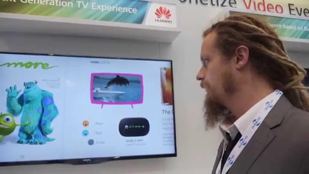 Huawei Set-top-box User Interface Concept