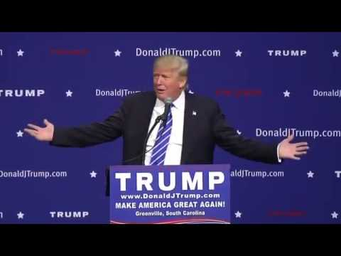 Donald Trump Speaks in Greenville, South Carolina (FULL)