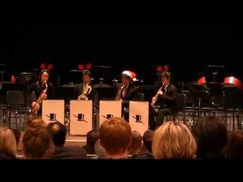 Christmas Medley for Saxophone Quartet