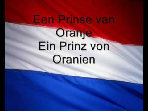 Anthem of the Netherland (with german translation)