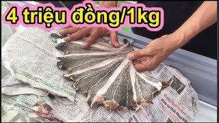 """""""Cận cảnh"""" khô Hắc Cáy 4 triệu đồng/1kg, chỉ đại gia Phúc XO mới dám ăn - Ẩm thực Việt Nam 247"""