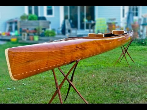 Building a Wooden Kayak - Making the microBootlegger