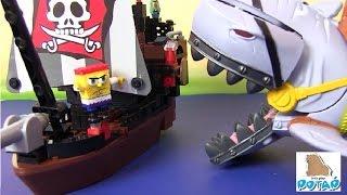 Смотреть Спанч Боб Мультик. ГУБКА СТАЛ ПИРАТОМ! Мультик про Пиратов! Губка Боб Смотреть