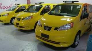 Nissan NV Taxi New York