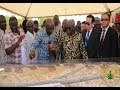President Akufo-Addo cuts sod for Tamale interchange