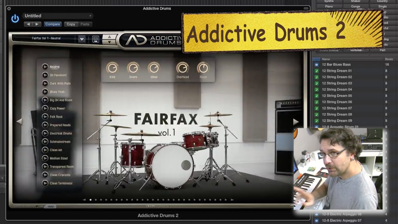 addictive drums 2 review youtube